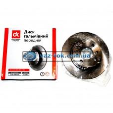 Диск тормозной ВАЗ 2108-2115 передний ДК