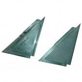 Уголки зеркала ВАЗ 2105 глухие комплект Пластик-Сызрань