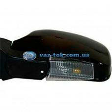 Зеркала ВАЗ 2108,09,2113-15 черные с поворотником ЗБ Завод